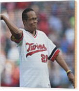 Rod Carew Wood Print