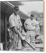 Rogers Hornsby Wood Print