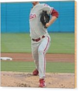 Roy Halladay Wood Print