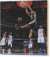 Rudy Gobert Wood Print