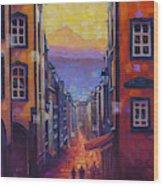 Rue des Gras Wood Print