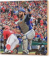 Russell Martin and Ian Desmond Wood Print