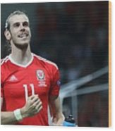 Russia v Wales - EURO 2016 Wood Print
