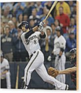 Ryan Braun Wood Print