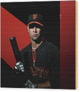 Ryan Vogelsong Wood Print