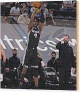 Sacramento Kings v Utah Jazz Wood Print