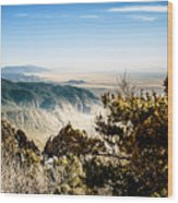 Sandia Mountains - View from the Sandia Crest Wood Print