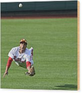 Scooter Gennett and Ben Revere Wood Print
