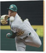 Sean Manaea Wood Print