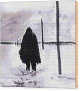 Siberian Stroll-Dr. Zhivago Wood Print