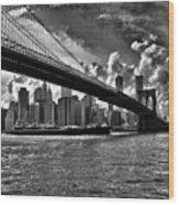 Simply New York Wood Print