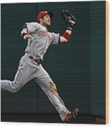 Skip Schumaker and Anthony Rendon Wood Print