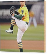 Sonny Gray Wood Print