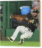 Starling Marte and Anthony Rendon Wood Print