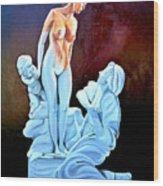 Statue 2 Wood Print