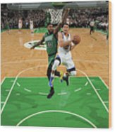 Stephen Curry and Gerald Green Wood Print