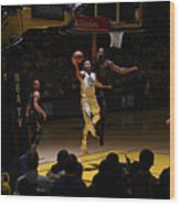 Stephen Curry and Tristan Thompson Wood Print