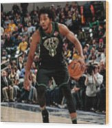 Sterling Brown Wood Print