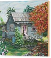 Sweet Tobago Life.  2 Wood Print