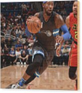Terrence Ross Wood Print