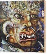 The Beast Of Babylon II Wood Print