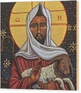 The Good Shepherd Wood Print