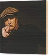 The Irishman Wood Print