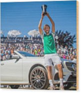 The MercedesCup Wood Print