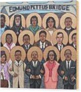 The Saints of Selma Wood Print