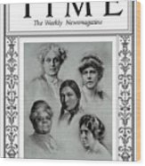 The Suffragists, 1920 Wood Print