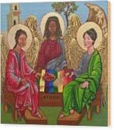 The Trinity Wood Print