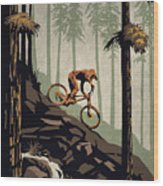 Think Outside No Box Required Wood Print