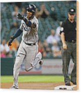 Tim Beckham Wood Print
