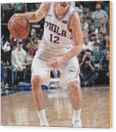 T.j. Mcconnell Wood Print