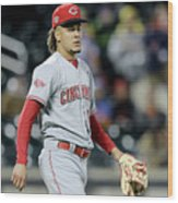 Todd Frazier and Luis Castillo Wood Print