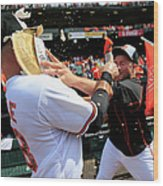 Tommy Hunter and Steve Pearce Wood Print