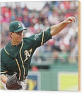 Tommy Milone Wood Print