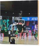 Toronto Raptors v Boston Celtics - Game Three Wood Print
