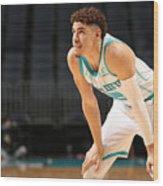 Toronto Raptors v Charlotte Hornets Wood Print