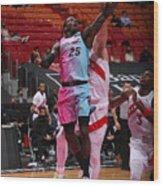 Toronto Raptors v Miami Heat Wood Print