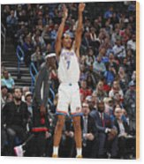 Toronto Raptors v Oklahoma City Thunder Wood Print