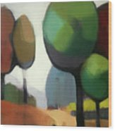 Untitled II Wood Print