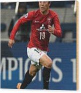 Urawa Red Diamonds v Beijing Guoan - AFC Champions League Group G Wood Print