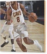 Utah Jazz v Cleveland Cavaliers Wood Print