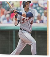 Victor Martinez Wood Print