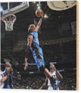 Vince Carter and Anthony Morrow Wood Print