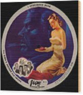 Vogue Record Art - R 708 - P 3 - Square Version Wood Print