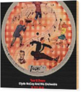 Vogue Record Art - R 722 - P 6 Wood Print