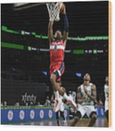 Washington Wizards v Boston Celtics Wood Print
