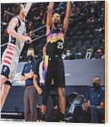 Washington Wizards v Phoenix Suns Wood Print